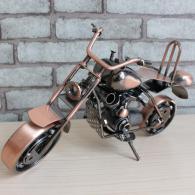 金属摩托车模型摆件 金属工艺品