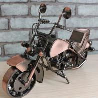 大号铁艺摩托车模型摆件 金属工...