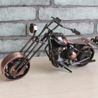 铁摩托车模型 金属工艺品