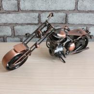 哈雷铁艺摩托车模型 金属工艺品