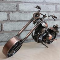 大号哈雷摩托车模型 金属工艺品