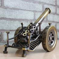 金属大炮模型 金属工艺品
