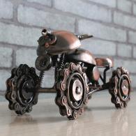 创意礼品沙滩车 金属工艺品