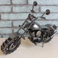 大号铁艺摩托车 金属工艺品