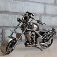 小号铁艺摩托车模型 金属工艺品