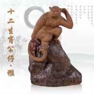 《十二生肖公仔-猴》陶艺艺术品...