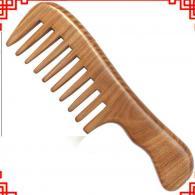 卷发造型宽齿梳子 饰品工艺品