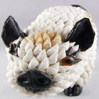 海螺十二生肖猪 家居装饰工艺品