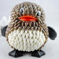 QQ企鹅海螺贝壳动物 家居装饰...