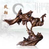 《凤翔》 根雕艺术品