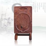 花瓶砚 红丝砚艺术品