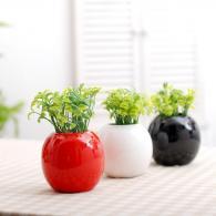 圆球小花瓶 陶瓷工艺品