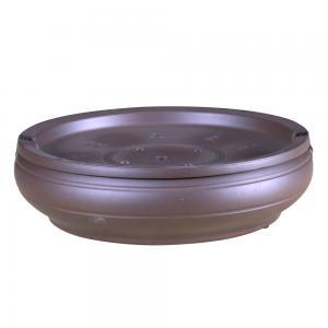 线条茶船 紫砂茶具艺...
