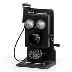 仿古老式电话机 金属...