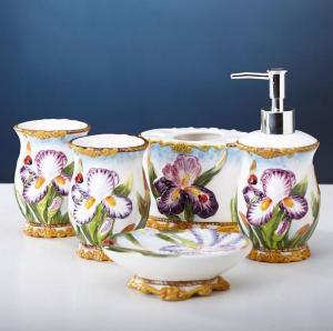 陶瓷浴室洁具卫浴五件...