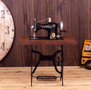 缝纫机模型 金属工艺...