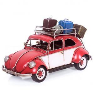 旅游复古铁皮小汽车模...