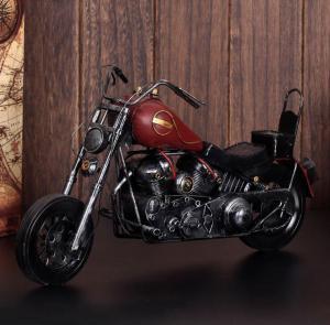 复古哈雷摩托车模型 ...