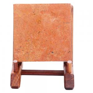 小方砖 红丝砚艺术品