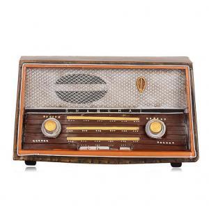 仿古收音机模型 金属...
