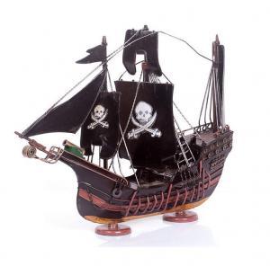 复古风模型摆件海盗船...