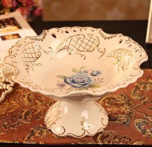 陶瓷水果盘 陶瓷工艺...