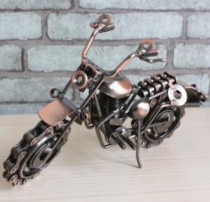大号铁艺摩托车模型 ...