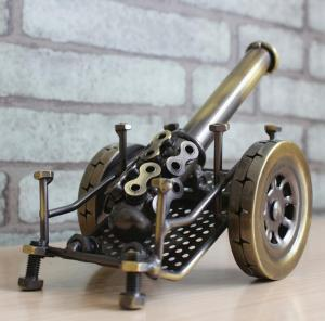 金属大炮模型 金属工...