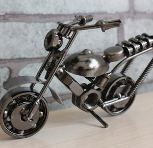 铁艺摩托车模型 金属...
