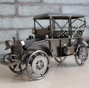 铁皮车模模型 金属工...