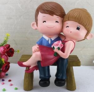 创意惊喜浪漫情侣摆件...