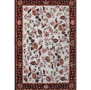 欧式美式碎花羊毛地毯...
