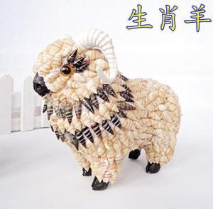 海螺动物十二生肖羊 ...