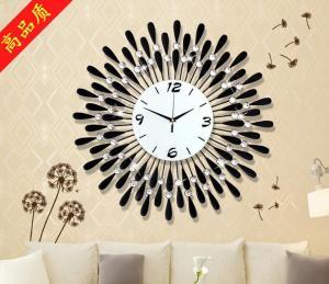 创意镶钻工艺时钟表 ...
