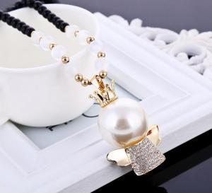 天使项链珍珠吊坠 挂...