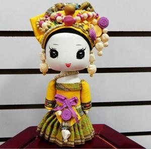 民族娃娃壮族中号 ...