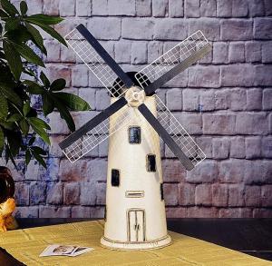 家居装饰品欧式风车 ...