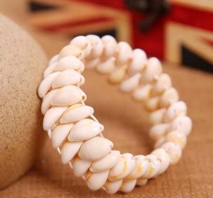 天然贝壳海螺手链 饰...