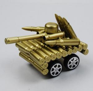 四轮坦克弹壳模型玩具...