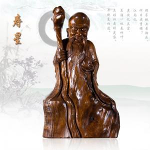 《寿星》根雕艺术品
