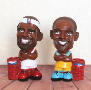 篮球明星存钱罐 树脂...