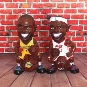 NBA球星摆件存钱罐...