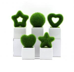 高仿真清新绿色植物盆...