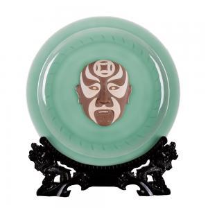 40盘脸谱 艺术陶瓷...