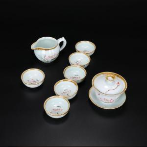 荷花茶具 茶具艺术汇