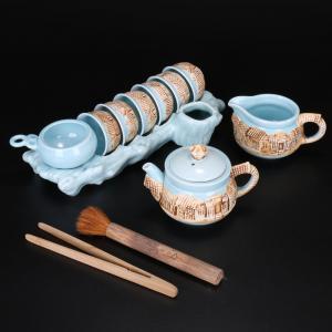 青釉老屋茶具 茶具艺...