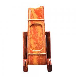 竹节砚 红丝砚艺术品...