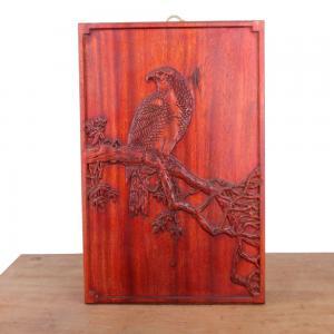 老鹰 板雕 木雕艺术...
