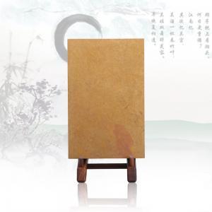 黄砚砖 红丝砚艺术品