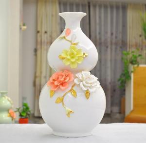 葫芦花瓶 家居装饰工...